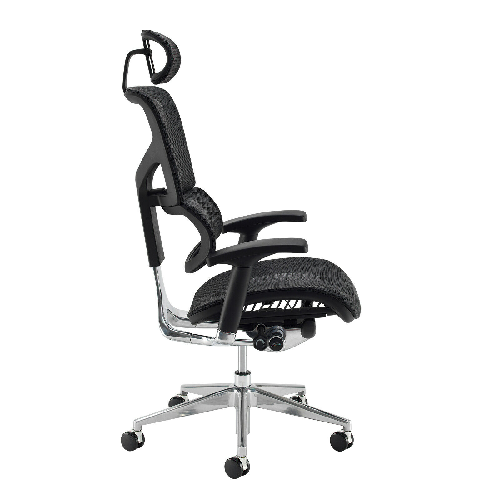 Sensational Details About Ergonomic Mesh Office Chair Dynamo Black Executive Chair Incl Headrest Home Interior And Landscaping Ologienasavecom