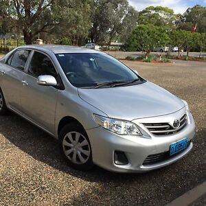 2011 Toyota Corolla Sedan Canberra City North Canberra Preview