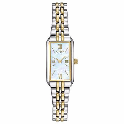 (NEW Citizen Eco-Drive Women's EG2694-59D Two-Tone Bracelet Watch)