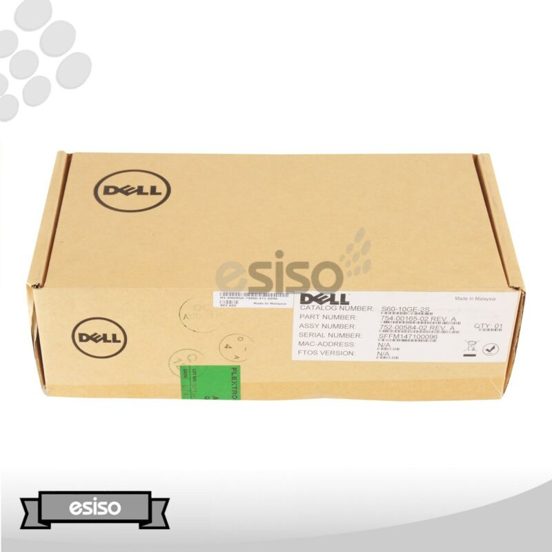 F/s New M6mg6 Dell Force 10 S60-10ge-2s 2-port 10g Sfp+ Optical Switch Module