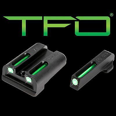 New Truglo Tfo Tritium Fiber Optic Day Night Sights Springfield Armory Xd Set