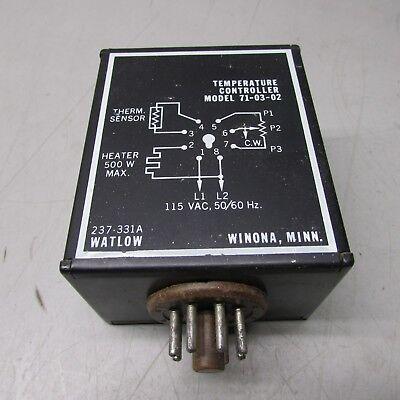 Watlow 71-03-02 Temperature Controller