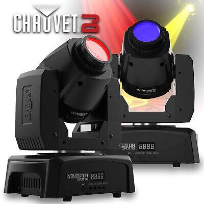 2 x Chauvet DJ Intimidator Spot 110 Moving Head Beam Spot Gobo LED Light Fixture