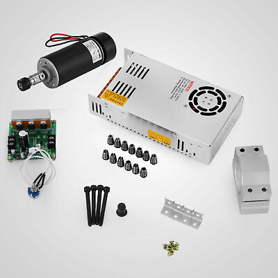 Cnc 400w Brushed Spindle Motor Er11ampdriver Speed Controllermount Engraving