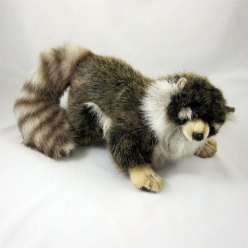 Hansa Young Raccoon Plush Stuffed Toy Animal 1999