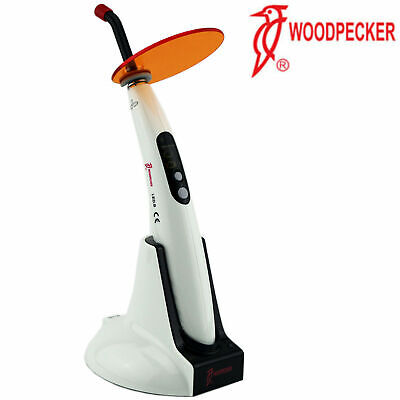 Woodpecker Dental Led Curing Light Led.b Lamp Wireless 1400mw Original Us Stock