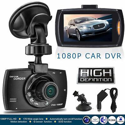 HD 1080P 2.7'' Dash Cam Car DVR Video Recorder Camera G-sensor Night Vision DE Night Vision Cam