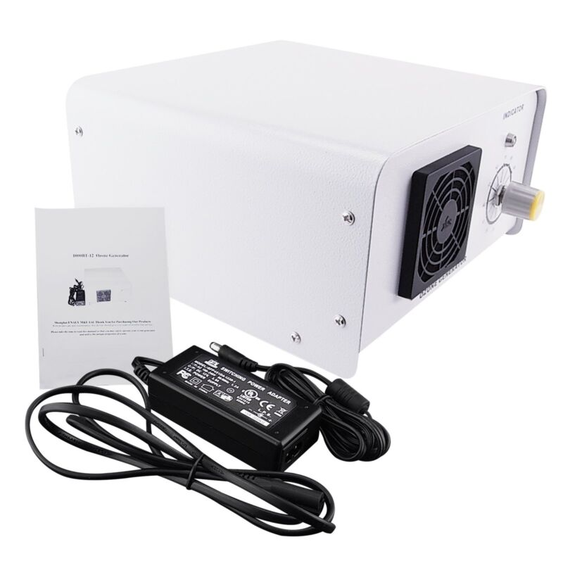 1250mg//h Industriell Ozon Generator Ozonisator 110~240V Wasser Luft Luftreiniger