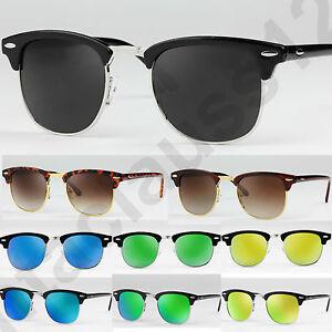 Clubmaster-Gafas-sol-polarizadas-y-clasicas-Espejo-Lentes-Hombre-y-mujer-UV400