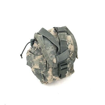 US Army, ACU, 1 Quart Canteen Pouch, MOLLE, General Purpose Pouch, USGI