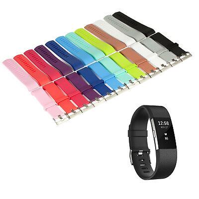 Sport Armband (Armband Ersatz für Fitbit Charge 2 Fitness Tracker Smartwatch Sport Uhrenarmband)