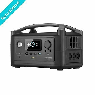 EcoFlow RIVER Portable Power Station 288Wh Backup Battery Certified Refurbished