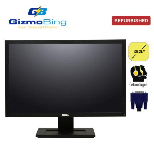 "Dell E2311Hf 23"" LCD Monitor 1920x1080 Full HD Display VGA + DVI + Stand Grade B"