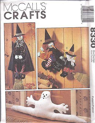 8330 Uncut Mccalls Nähen Muster Halloween Dekor Beretta - Halloween Dekor Muster