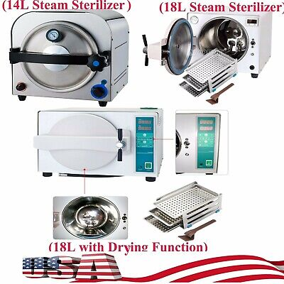 1418l Dental Medical Steam Autoclave Sterilizer Sterilizationdrying Function S