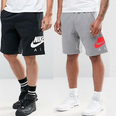 Nike Air Mens Fleece Shorts Sports Fitness Gym Casual Training Jogging Short