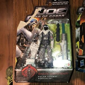 GI Joe - Rise of Cobra - Snow Serpent - Toys R Us Exclusive