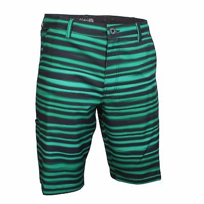 8e5e04e455 Da Hui Dahui Men's Hybrid Board Short, Green/Black, 38