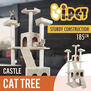 Cat Scratching Post Tree Gym House Scratcher Pole Furniture Toy Adelaide CBD Adelaide City Preview