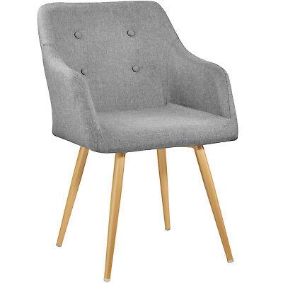 Zimmer Stuhl (Stuhl Wohnzimmerstuhl Esszimmerstuhl Küchenstuhl Konferenzstuhl Retro Stoff)