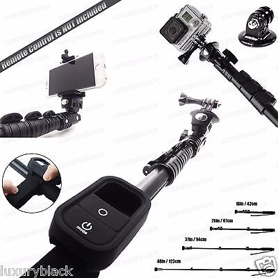 GoPro Mollify Resistant MONOPOD with Wi-Fi Remote Cover for Go Pro Hero 4 3+ 3 2 1
