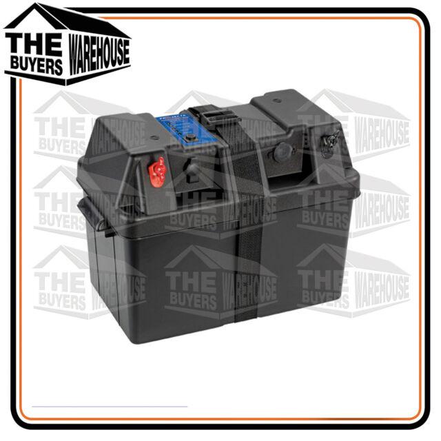 PROJECTA BPE330 BATTERY BOX AGM DEEP CYCLE UP 2 130AH DUAL SYSTEM 12V 100AH LED