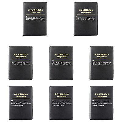 0201 0805 1206 0402 0603 1 Smd Smt Chip Resistor 170 Values Sample Book Diy At2