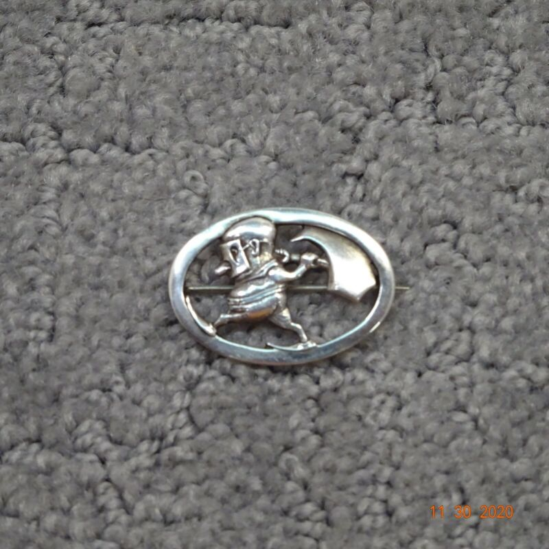 Tiffany and Company Sterling Silver Character Pin