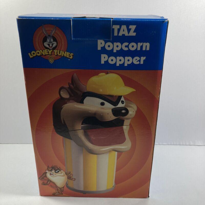 LOONEY TUNES Taz Tazmanian Devil Counter Top Hot Air Popcorn Popper Warner bros