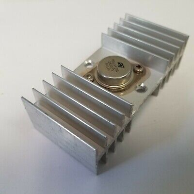 2n3055 St Micro Power Transistor Npn 15a 60v In T0-3 With Large Heat Sink