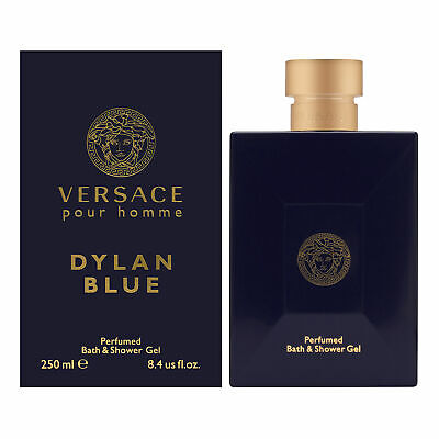 Versace Pour Homme Dylan Blue for Men 8.4 oz S/Gel Brand New