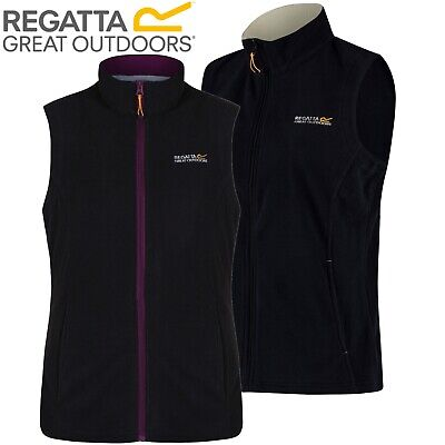 Regatta Sweetness Fleece Gilet Light Womens / Ladies / Girls BodyWarmer Vest