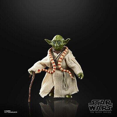 Star Wars The Black Series 40th Ann ESB Yoda 6 Inch Scale Action Figure LOOSE
