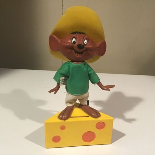VINAGE SPEEDY GONZALES PLATIC BANK 1971 FREE SHIPPING