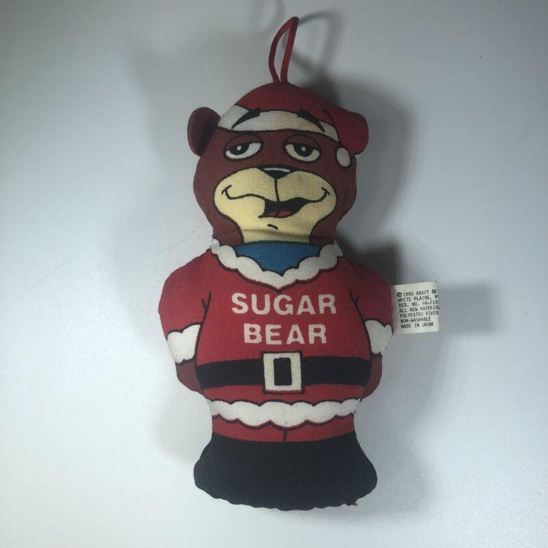 Kraft Sugar Bear Vintage 1990 Christmas Tree Collectible Ornament