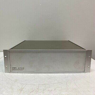 Pts Programmed Test Sources Model 250-r1n1x Frequency Synthesizer 1-250mhz