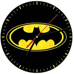 8 WALL CLOCK - BATMAN #SN2 Bat Cave Logo Kitchen Office Bathroom Bar Bedroom