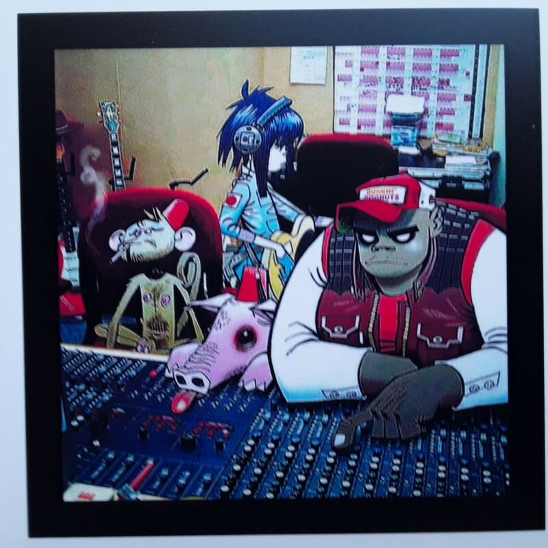 GORILLAZ ☆  Band Magnet 3.5 X 3.5 inches