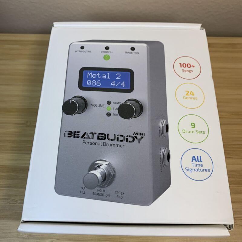 Singular Sound Beat Buddy Mini Drum Machine Effects Pedal w/Box and Adapter
