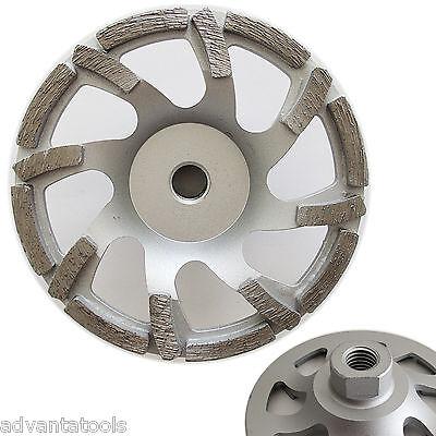 5 Turbo Diamond Cup Wheel For Concrete Stone Masonry Grinding 58-11 Arbor