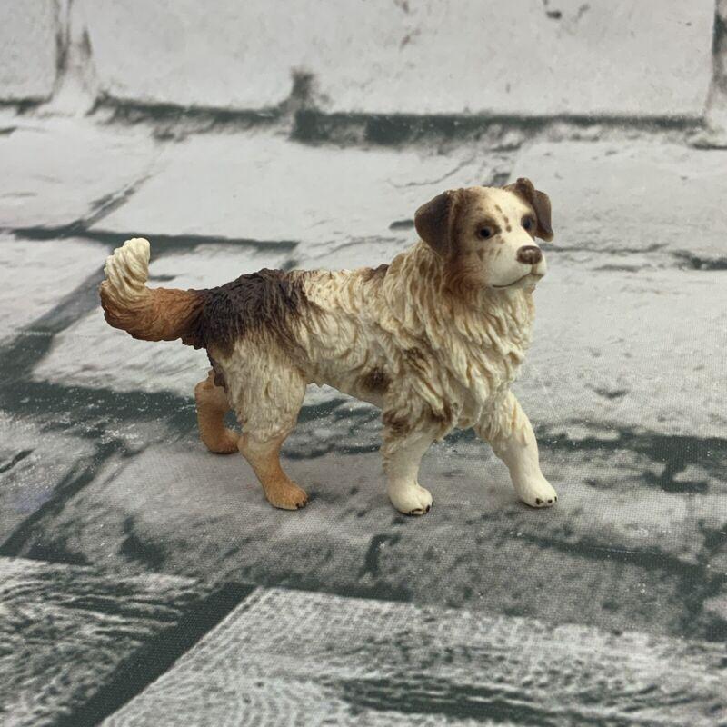 Schleich Australian Shepherd Dog Figure Collectible Retired 16392