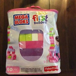 Fisher price mega blocks first builders 60 pieces Greenwith Tea Tree Gully Area Preview