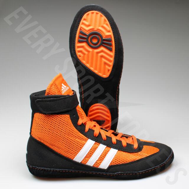 adidas Combat Speed 4 Wrestling Shoes M18782 Men's 8 Orange Black ...