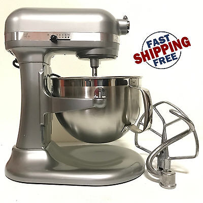 مضرب كهربائي  KitchenAid RKP26M1X 10 Speed 6qt Pro 600 Large Capacity Stand Mixer-Contour Slvr