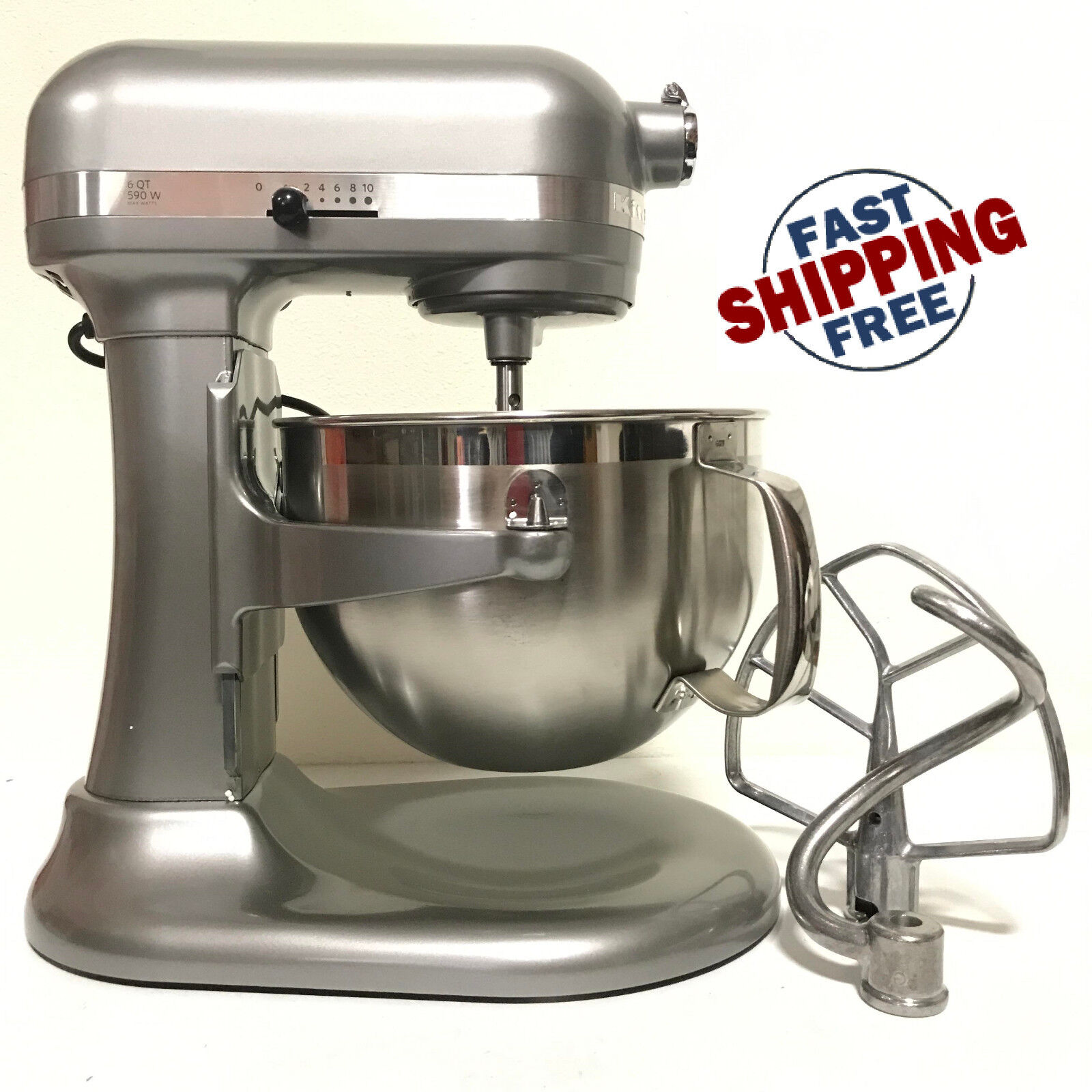 kitchenaid rkp26m1x 10 speed 6qt pro 600 large capacity stand mixer
