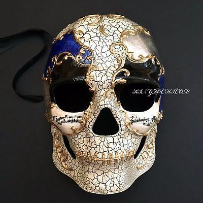 Halloween Skull Full Face Costume Masquerade Party Mask - Halloween Full Costumes