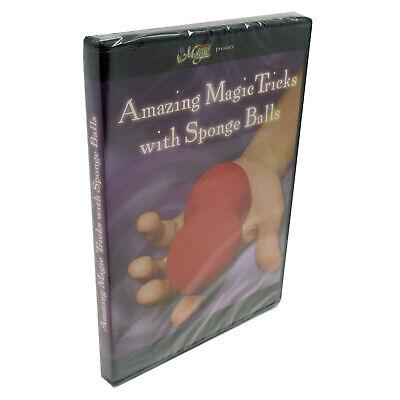 Royal Magic Amazing Magic Tricks Sponge Balls DVD Learn Tricks with Spongeballs Dvd Amazing Magic Tricks