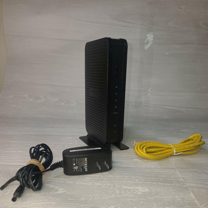 NETGEAR C3000-100NAS N300 (8x4) WiFi DOCSIS 3.0 Cable Modem Router C3000 NO BOX