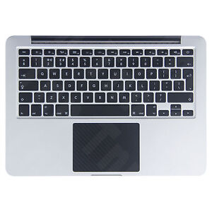 Macbook Pro / Retina 13 inch carbon fibre trackpad vinyl sticker skin