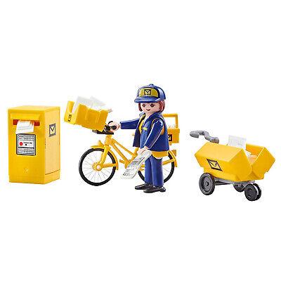 Playmobil Postwoman Building Set 9806 NEW Learning Toys